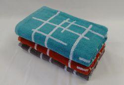 FINA froté s celoplošným vetkávaným vzorem, 100% bavlna