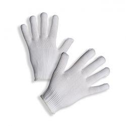 PD-94 Pletené bezešvé rukavice s pružnou manžetou z kadeřeného nylonu.