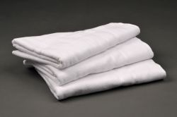 HOTEL 2S White Terry Towels for hotels, low pile, 100% cotton, 450 gsm