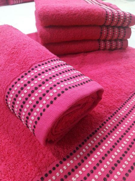 DOTS froté, 100% bavlna, 12 odstínů, 500 g/m2