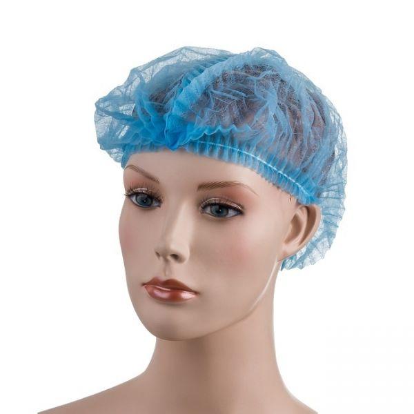 PD-DETECT Jednorázová čepice z netkané textilie, s detekčním páskem