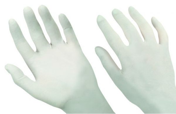 PD-NW-PWF Nitrilové bílé nepudrované rukavice