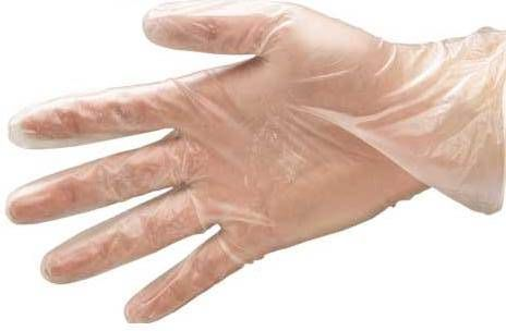 PD-VN-PWD Vinylové transparentní pudrované rukavice