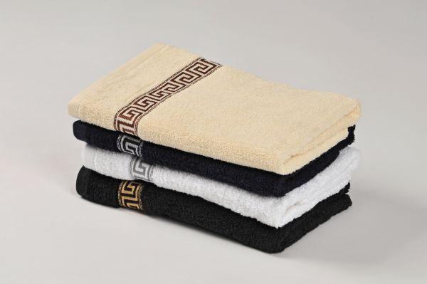 GREEK 2018 froté, 100% bavlna, 4 odstíny, 500 g/m2