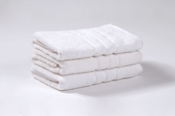 CLASSIC a COMFORT Bílé froté, 100% bavlna, 400 g/m2 a 500 g/m2